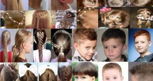 дитячі зачіски фото