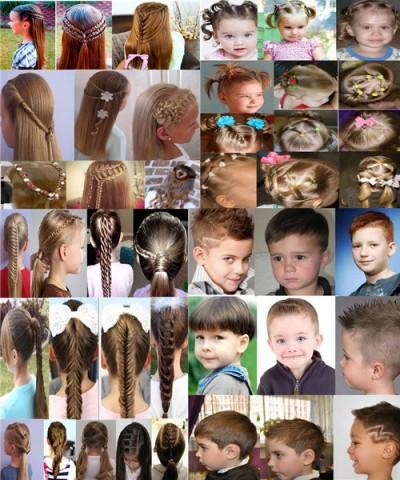 Дитячі зачіски фото на кожен день 1
