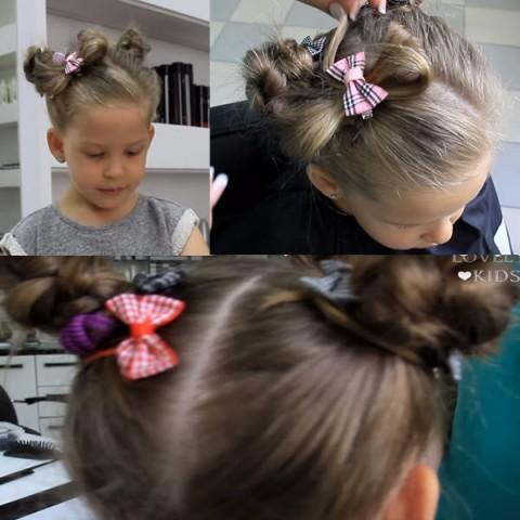 Дитячі зачіски фото на кожен день 3