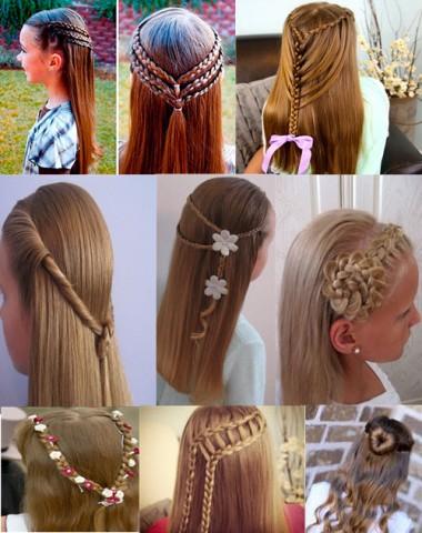 Дитячі зачіски фото на кожен день 5