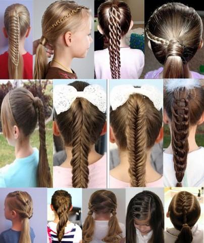 Дитячі зачіски фото на кожен день 6