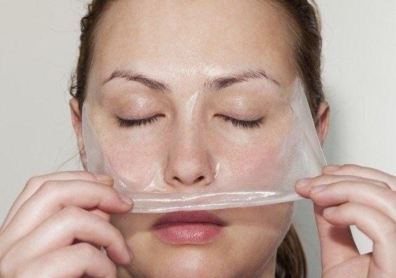 Маска з желатину ефективний догляд за обличчям