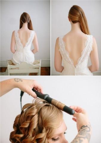 Весільні зачіски як зробити самостійно 2