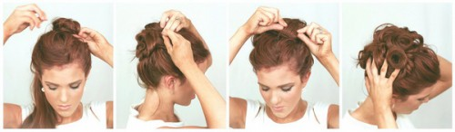Зачіски елегантні створені в домашніх умовах 10