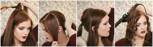 Зачіски елегантні створені в домашніх умовах 11