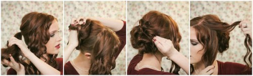 Зачіски елегантні створені в домашніх умовах 12