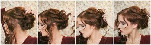 Зачіски елегантні створені в домашніх умовах 13