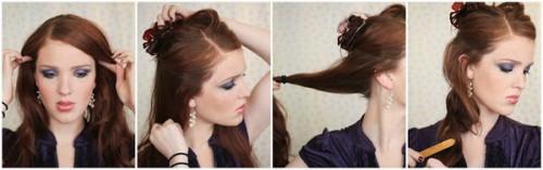 Зачіски елегантні створені в домашніх умовах 4