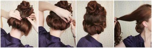 Зачіски елегантні створені в домашніх умовах 5
