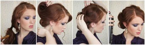 Зачіски елегантні створені в домашніх умовах 6