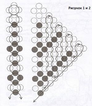 Бісероплетіння схеми - способи створення картин 11