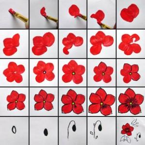 Дизайн нігтів фото - флористичні мотиви 1