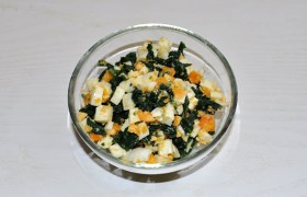 Рецепт котлети курячої зі шпинатом і яйцем 2