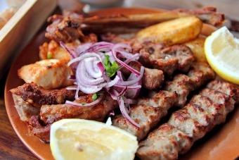 Шашлик рецепт по-грузинськи з свинини і баранини