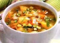 Суп овочевий легкий зі стручковою квасолею