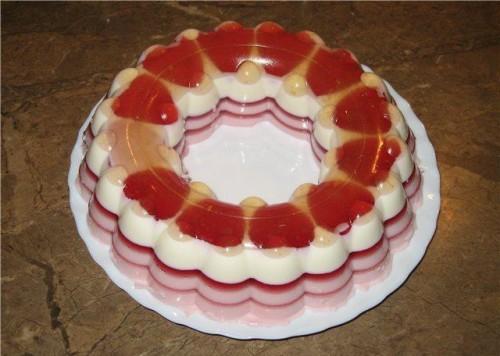 Торт желе рецепт без випічки і ідеї прикраси 1