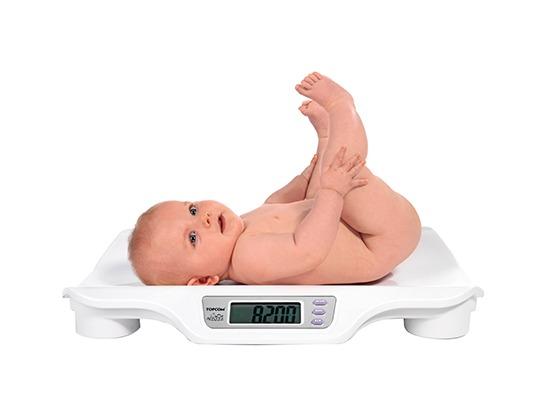 Вага дитини - набір по місяцях, таблиця норми