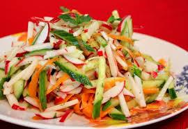 Пісні салати – рецепти приготування