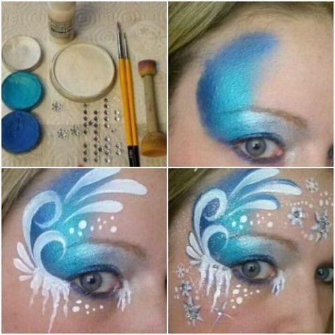 Фантазійний макіяж - покрокові інструкції 6