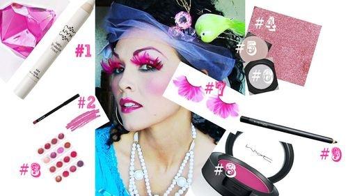 Фантазійний макіяж - покрокові інструкції