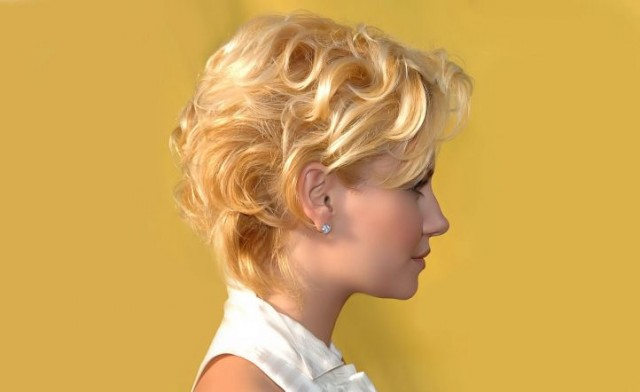 Короткі зачіски. Цікаві ідеї створення коротких зачісок 4