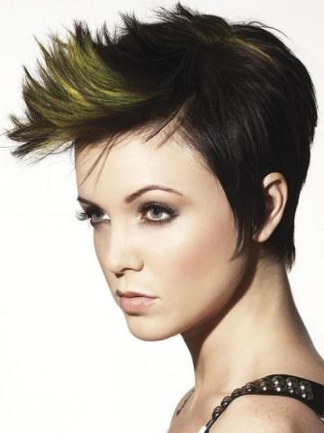 Короткі зачіски. Цікаві ідеї створення коротких зачісок 5