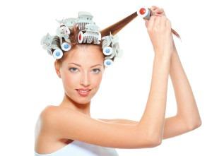 Як накрутити волосся на бігуді