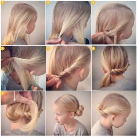Гарні зачіски - як зробити в домашніх умовах 2