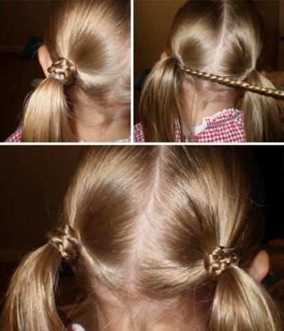 Гарні зачіски - як зробити в домашніх умовах 4