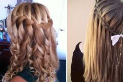 Зачіски з розпущеним волоссям – привабливі 12