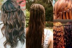 Зачіски з розпущеним волоссям – привабливі 13