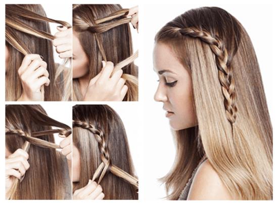 Зачіски з розпущеним волоссям – привабливі 14
