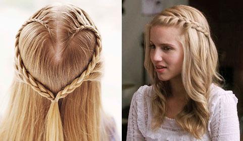 Зачіски з розпущеним волоссям – привабливі 15