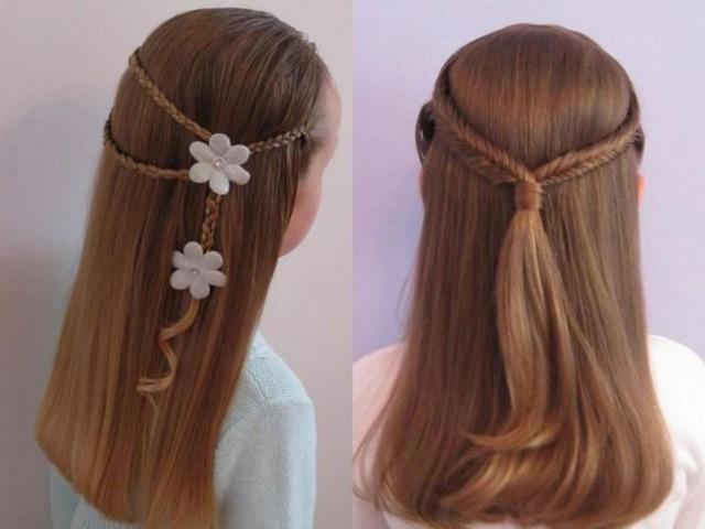 Зачіски з розпущеним волоссям – привабливі 16
