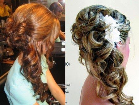 Зачіски з розпущеним волоссям – привабливі 9
