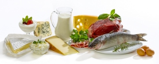 Food rich with proteins