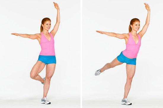 Вправи для збільшення сідниць - програма тренувань 2