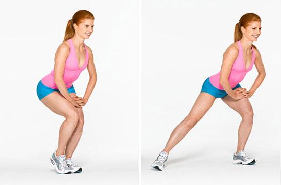Вправи для збільшення сідниць - програма тренувань 3