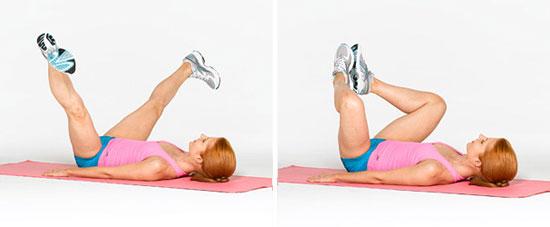 Вправи для збільшення сідниць - програма тренувань 5