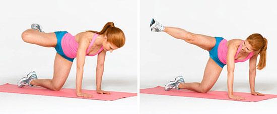 Вправи для збільшення сідниць - програма тренувань