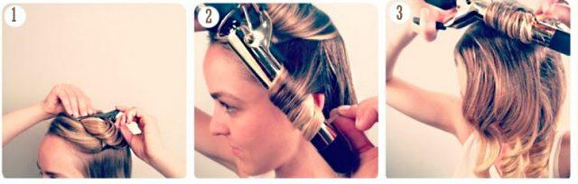 Як накрутити волосся плойкою – красиво і стильно 7