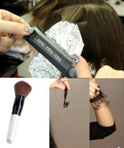 Як накрутити волосся утюжком різні види локонів 3