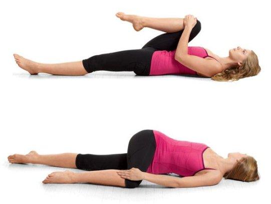 Як схуднути на животі – вправи 1