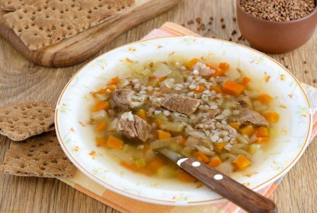 Як варити суп з гречки – три рецепти