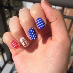 Гарний літній манікюр, Вибираємо дизайн нігтів 12