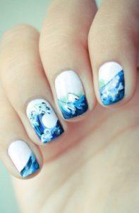 Гарний літній манікюр, Вибираємо дизайн нігтів 14