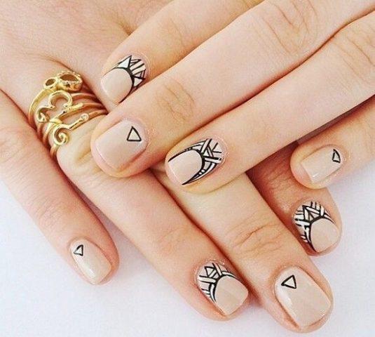 манікюр картинки на короткі нігті