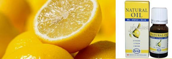 Олія лимону властивості і застосування