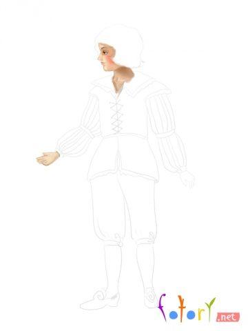 Як намалювати олівцем людей схеми для початківців 11