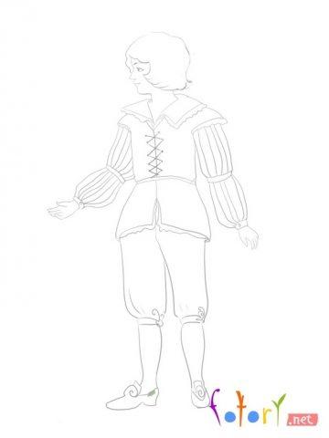 Як намалювати олівцем людей схеми для початківців 12